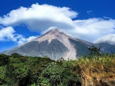 El Volcán de Fuego Guatemala