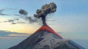 Erupciones del Volcán de Fuego