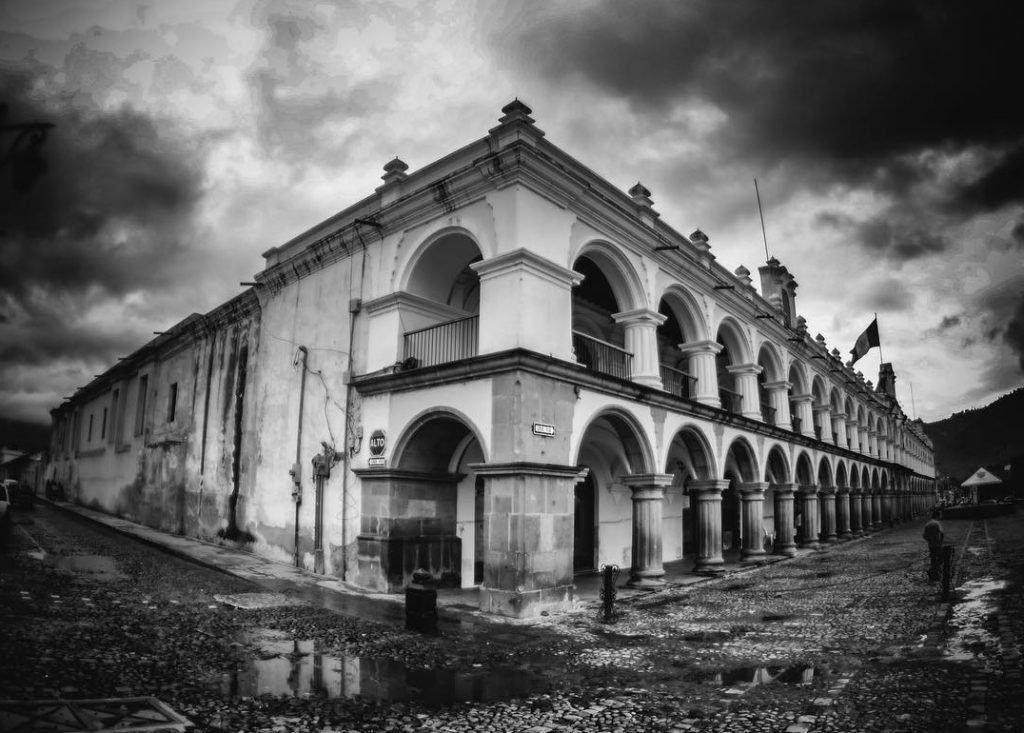 Historia del Palacio de los Capitanes Antigua Guatemala