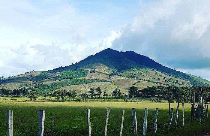 Imagen del Volcán Jumay