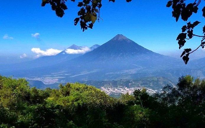 Imagenses del Volcán de Pacaya