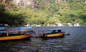 Lago de Amatitlán Guatemala