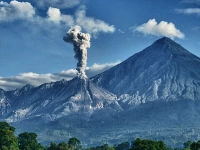 Volcán Santiaguito Guatemala