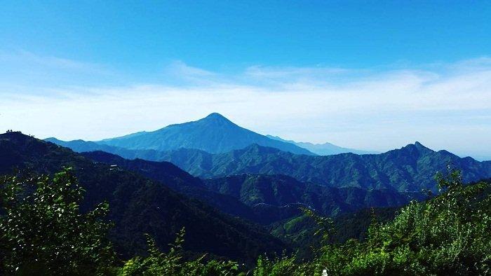 Volcán Tacaná en San Marcos