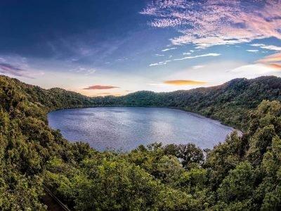 Volcán y Laguna de Ipala en Chiquimula