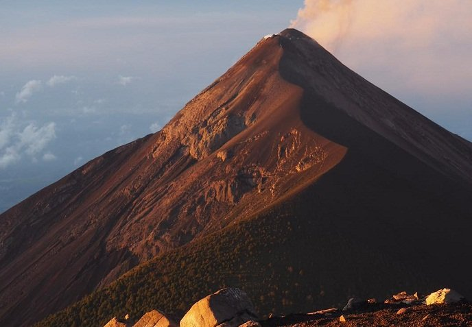 volcán acatenango guatemala