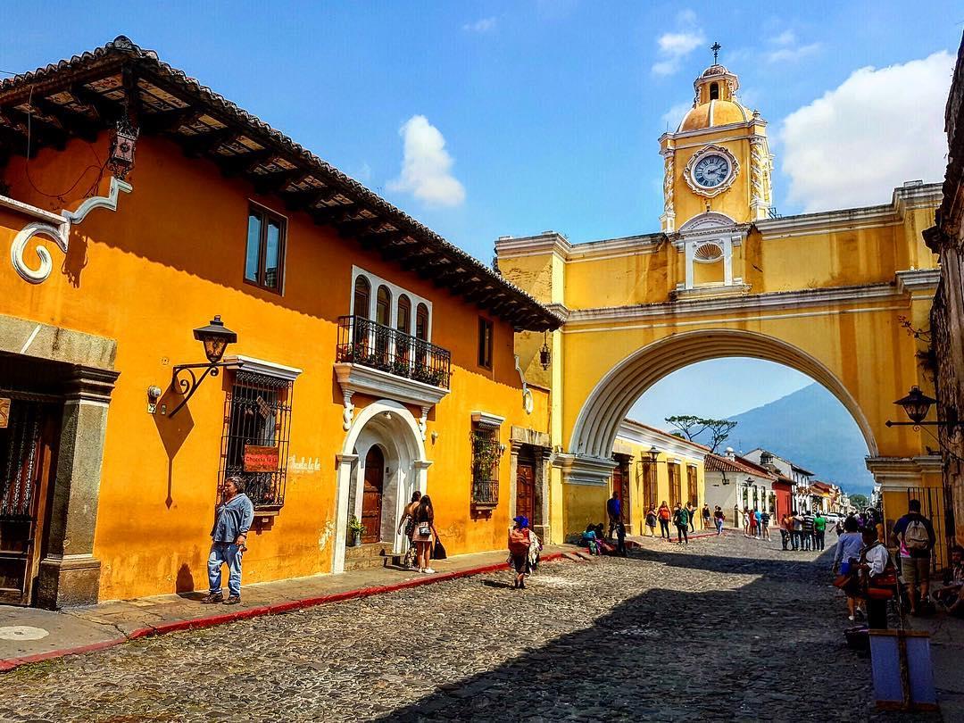 Imagen del arco de santa catalina antigua guatema