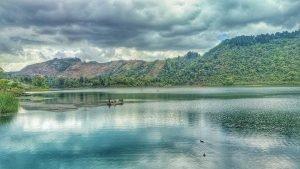 Laguna de Calderas en Amatitlán