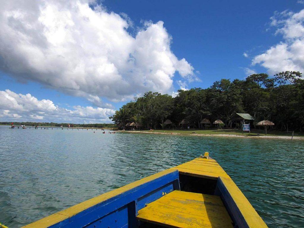 Playa El Chechenal en Petén
