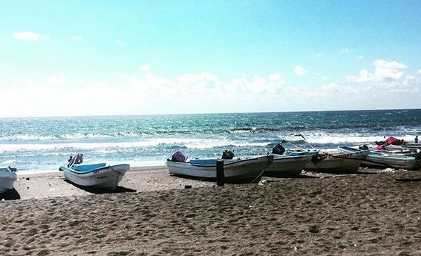 Playa Tecojate en Escuintla 1