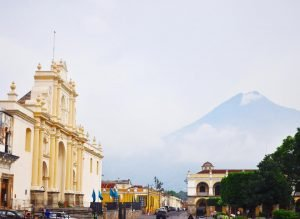 Plaza Mayor Antigua Guatemala