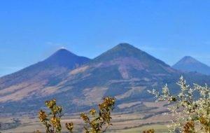 Volcán Cerro Redondo en Santa Rosa