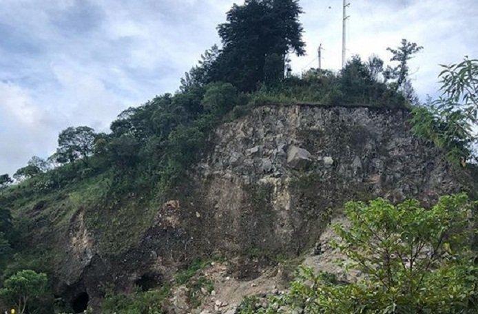 Volcán Cruz Quemada, Santa Rosa