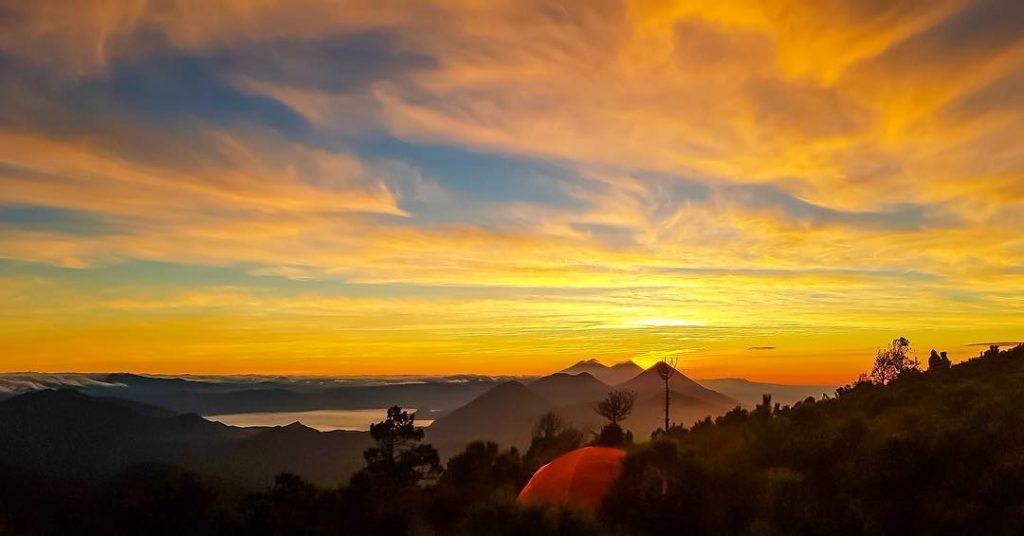 Volcán Santo Tomás en Quetzaltenango