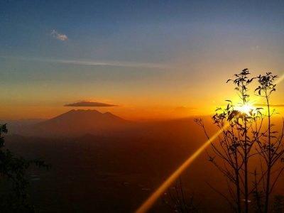 Volcán Suchitán en Jutiapa