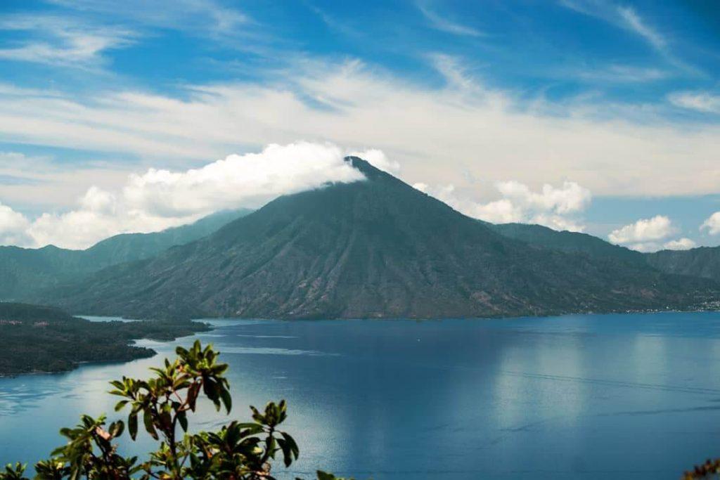 Volcán Tolimán en Sololá