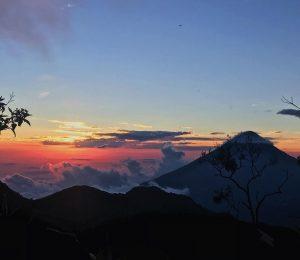 Volcán Zunil en Quetzaltenango