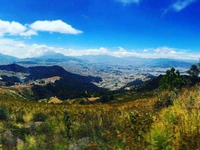 Volcan Cuxliquel en Totonicapan