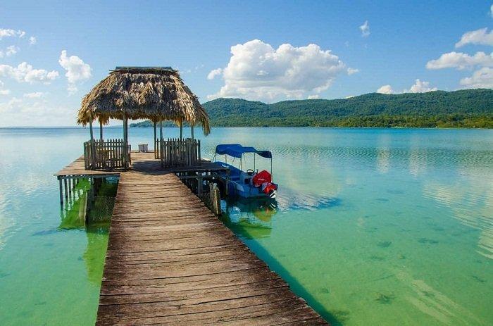 Lago Petén Itzá Guatemala
