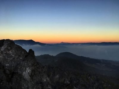 Volcán Cerro Quemado en Quetzaltenango