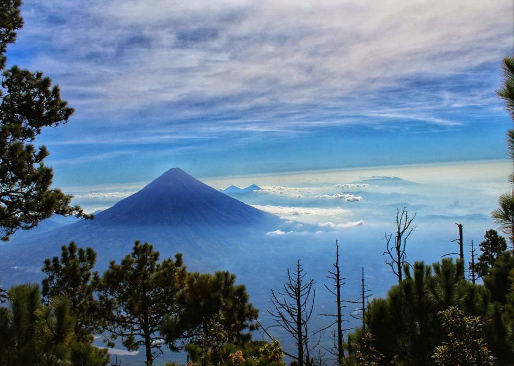 Volcán Tecuamburro en Santa Rosa