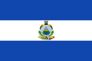 Bandera de Guatemala de 1838 - 1843