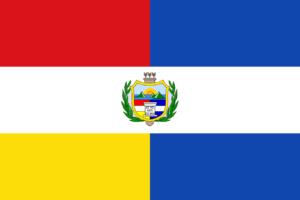 Bandera de Guatemala de 1851 - 1858