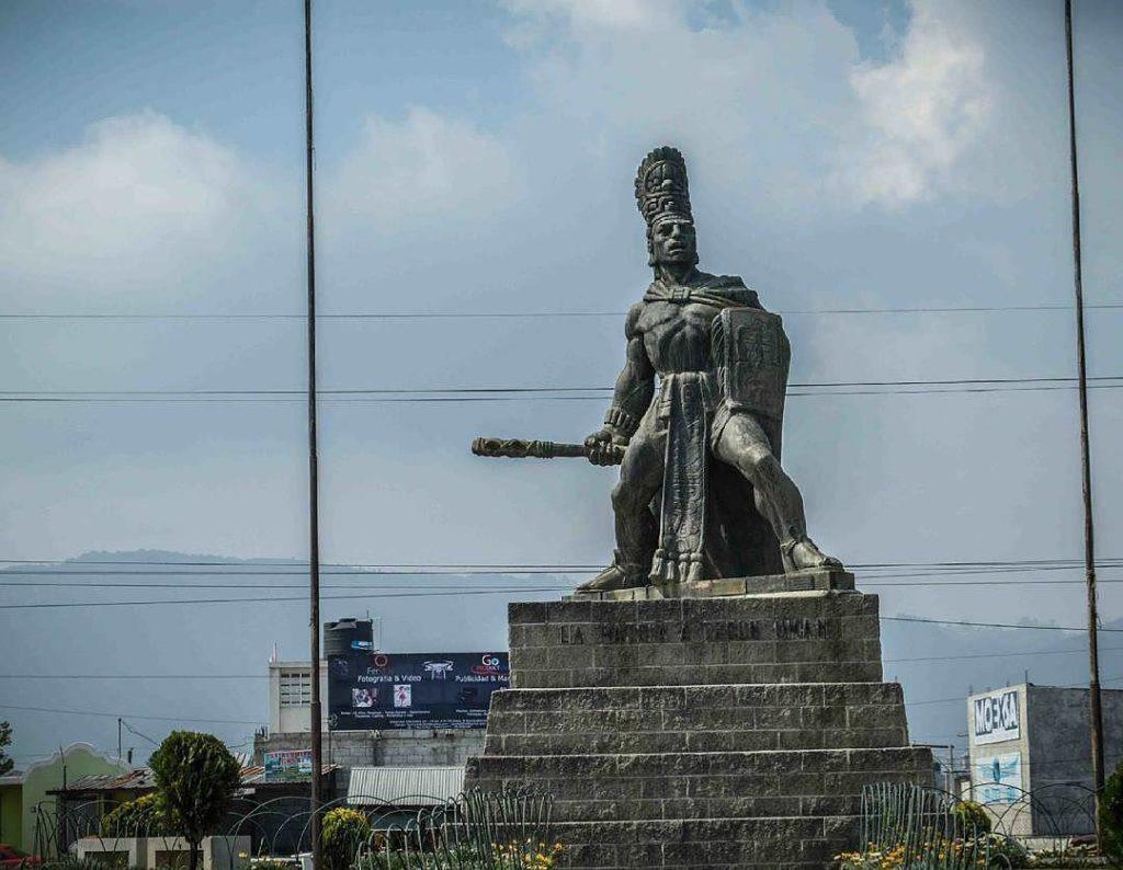 Tecún Umán Héroe Nacional de Guatemala