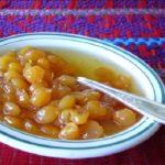 Garbanzos en Dulce guatemalteco