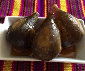 Higos en miel guatemaltecos