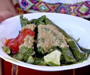 Comidas típicas de Baja Verapaz Guatemala