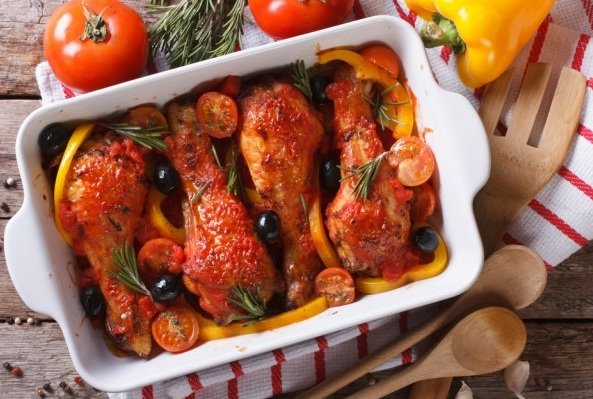 Pollo hornedo guatemalteco