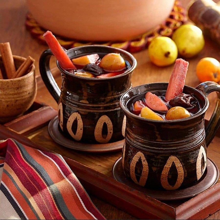 Ponche de frutas guatemalteco