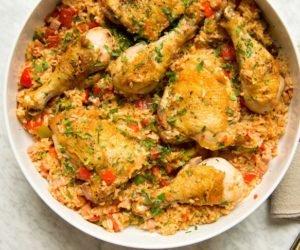 arroz con pollo guatemalteco