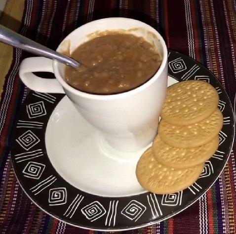 arroz con chocolate guatemalteco