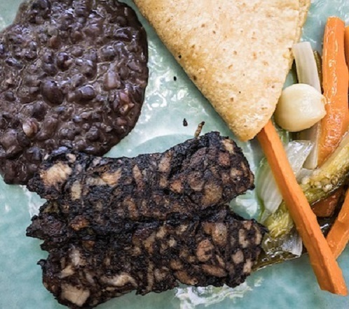 Receta de moronga guatemalteca