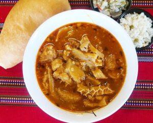 Receta de Caldo de Panza guatemalteco