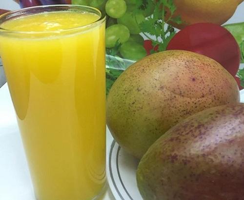 Receta de Jugo de Mango Guatemalteco
