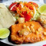 Receta de Pescado Seco Envuelto en Huevo guatemalteco