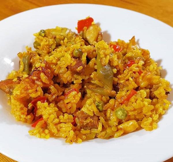 Receta de arroz guatemalteco
