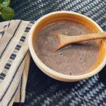Receta de Sopa de Frijoles guatemalteca